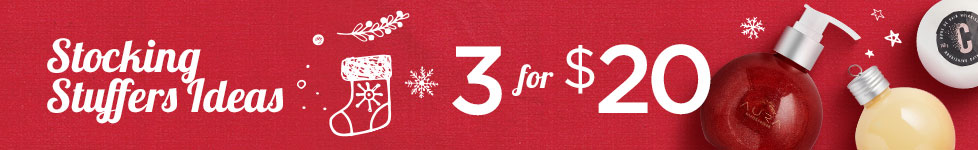3 for $20 - Stocking stuffers