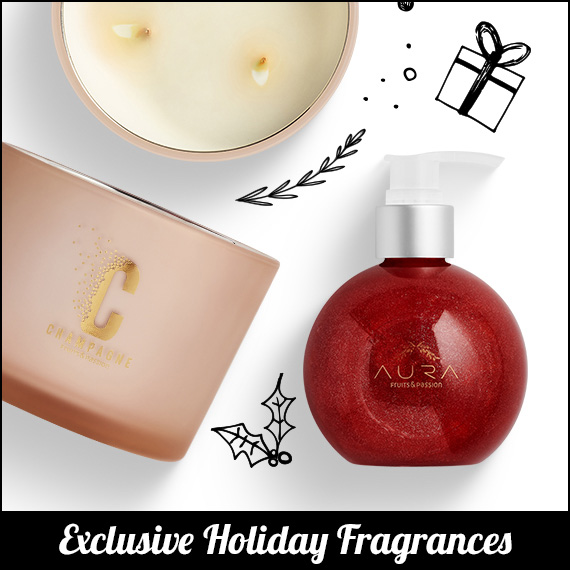 Exclusive Holiday Fragrances
